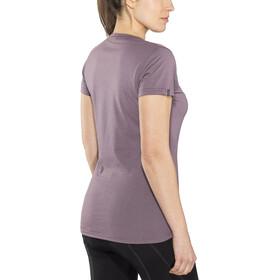 ION Seek T-Shirt Drirelease Manches Courtes Femme, antic purple